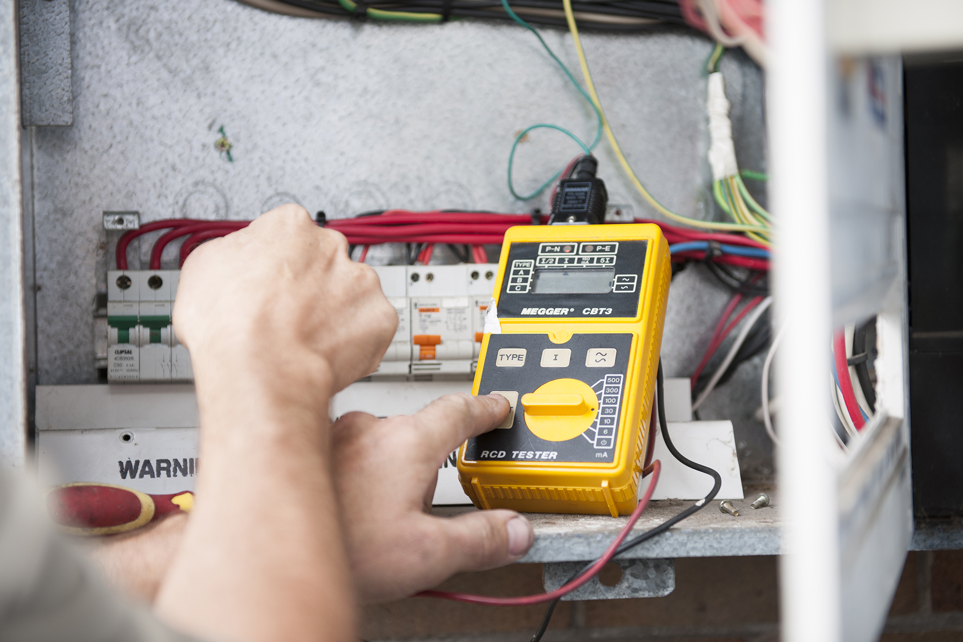 RCD Electrical Switch testing Newcastle